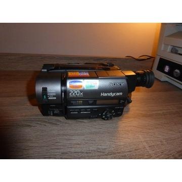 kamera sony video8 xr ccd-tr640e  super okazja