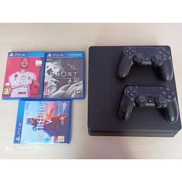 PS4 SLIM 1T 2xPAD 4k GWARANCJA