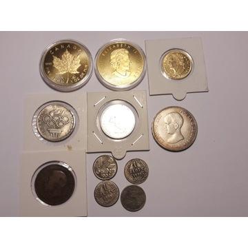 Zestaw monet po zbieraczu wyprzedaż staroci 27