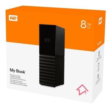 """Dysk zewnętrzny HDD WD 8TB 3,5"""" My Book USB 3.0"""
