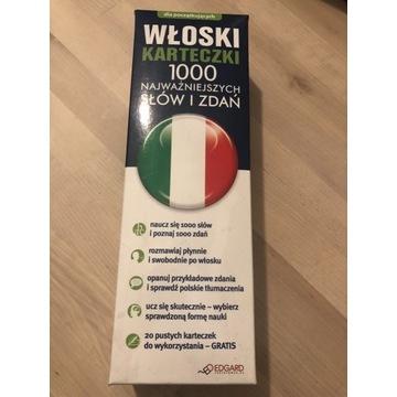 Włoski karteczki- 1000 najważniejszych słów i zdań