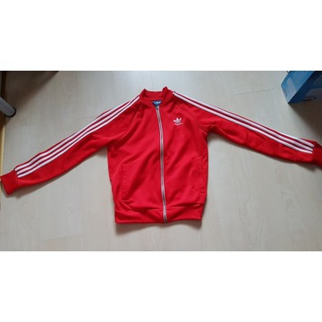 Bluza Adidas Originals *czerwona* -jak nowa-