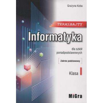 Informatyka. Klasa I.