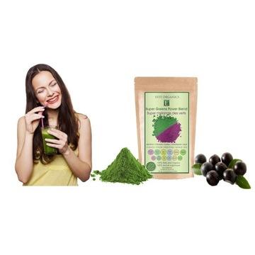 Spirulina & Chlorella Organiczna (Proszek 100g)