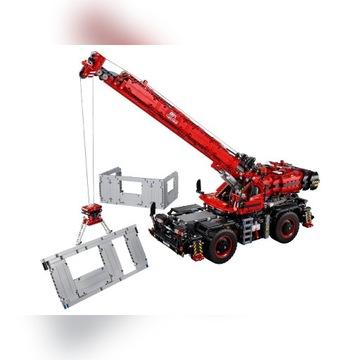 Lego 42082 Dźwig - Rough Terrain Crane
