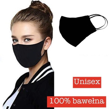 Maska maseczka wielorazowa bawełna Premium