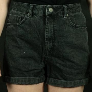 Szorty XS asos czarny jeans