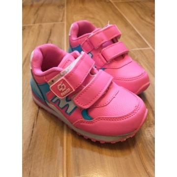 Buty sportowe dla dziewczynki roz.25