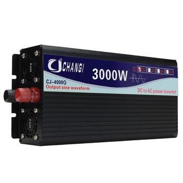 Przetwornica 24V do 230V 3000W czysty sinus
