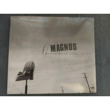Magnus Where Neon Goes To Die CD. Nowe, folia.