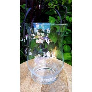 wazon szklany lampion 28cm