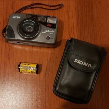 Stary aparat forograficzny/klisza/etui/sprawny