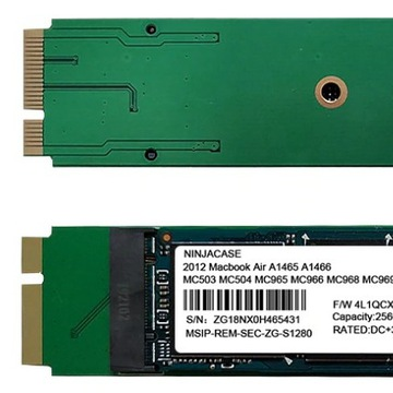 Dysk SSD 1TB do Macbook Air 2012