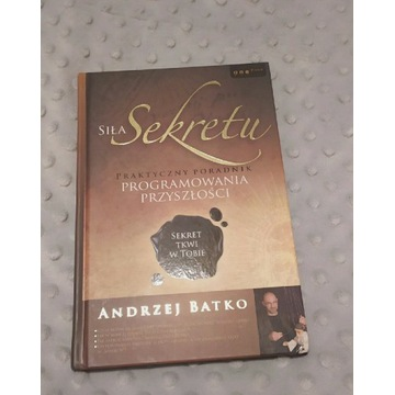 Książki poradniki Siła sekretu oraz Hipnoza i sen