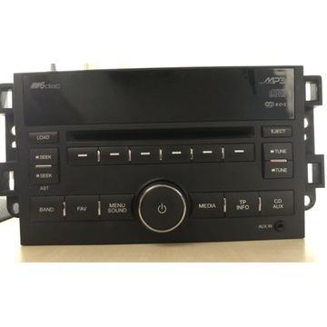 Oryginalne radio Chevrolet Captiva