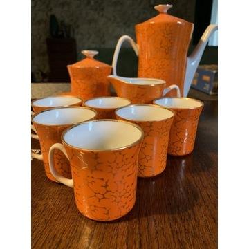 Porcelana Włocławek garnitur serwis do kawy