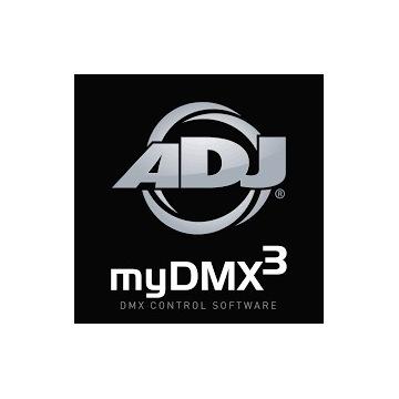Gotowe Show DMX - MyDMX 3.0 - 2-8 Ruchomych Głowic