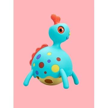 Rollobie Fat Brain Toys sensoryczny dino Rollobie