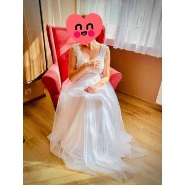 Ciążowa suknia ślubna - wrzesień 2020