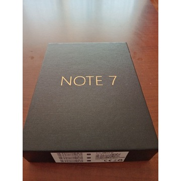 Cubot note 7 nowy