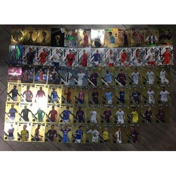 Karty piłkarskie panini zestaw 4400 sztuk