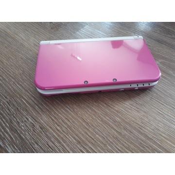 new NINTENDO 3DS XL 4GB różowy rose+ wgrane gry