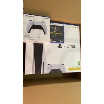 Sprzedam PlayStation 5 +Dodatkowy Pad+Gra Returnal