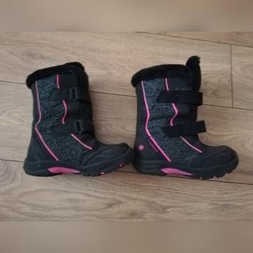 Buty zimowe, śniegowca r. 32, piękne