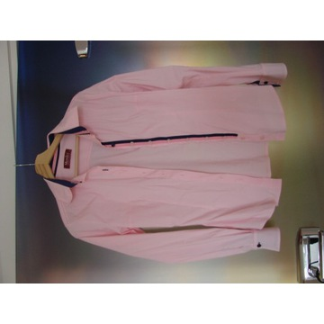 Różowa koszula elegancka rozmiar 38