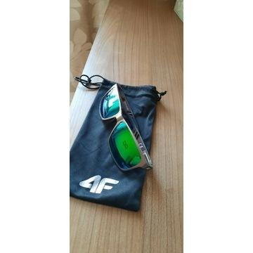 Okulary przeciwsłoneczne 4F, kolor szary, szkła S3