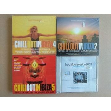 Chillout in Ibiza, płyty CD dwupłytowe