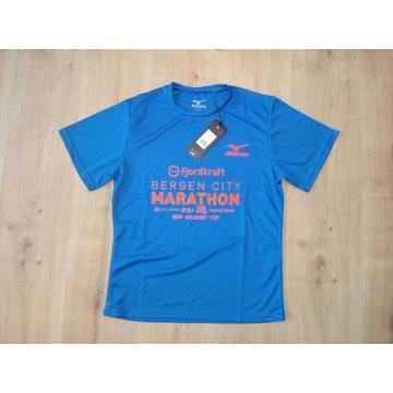 Mizuno męska koszulka do biegania nowa running - S