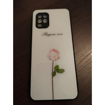 Nowe etui Xiaomi Mi 10 Lite Róża Białe śliczne