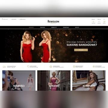 Rewolion.pl Profesjonalny sklep internetowy odzież