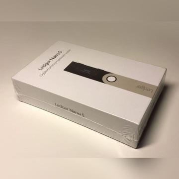 Nowy zafoliowany  Ledger Nano S zafoliowany