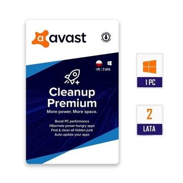 Avast Cleanup PREMIUM |1 PC |2 lata |PL |KLUCZ