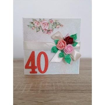 Kartka na 40 urodziny, rocznice