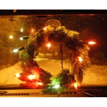 Stroik samochodowy świecący+lampki LED Auto12V/24V
