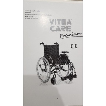 Wózek inwalidzki ultra lekki jak nowy Super jakość