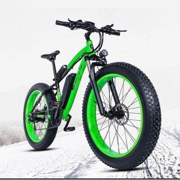 Fat E-bike 1000W, 17.5ah