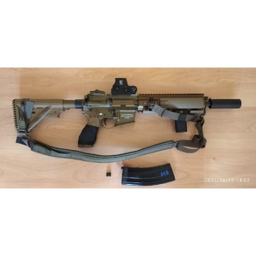 HK416A5 RAL8000