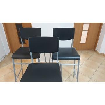 Krzesła barowe IKEA 3 sztuki