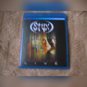 STYX  The Grand Illusion Pieces Of Eight Blu-Ray