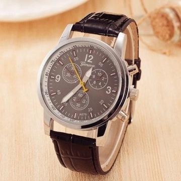 Damski zegarek GENEWA skórzany