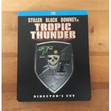 Tropic Thunder Dir Cut Jaja w tropikach Steelbook
