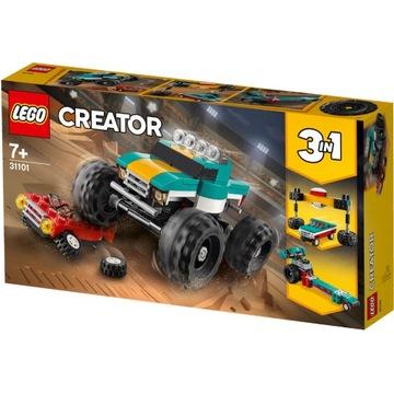 Klocki LEGO Creator 31101 - Monster Truck 3 w 1
