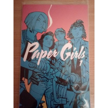 Paper Girls vol. 1 komiks