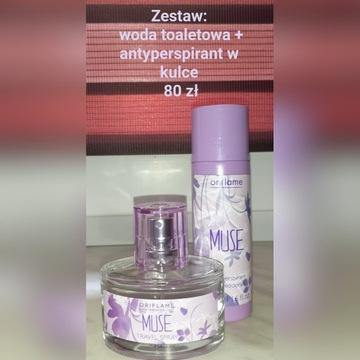 Woda + antyperspirant Muse - Oriflame