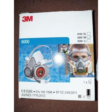 Maska 3M Komplet 6000