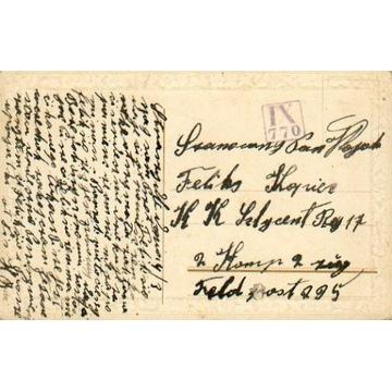 1917 - Tyczyn (Rzeszów) - kamufl.st.okręg. IX-770